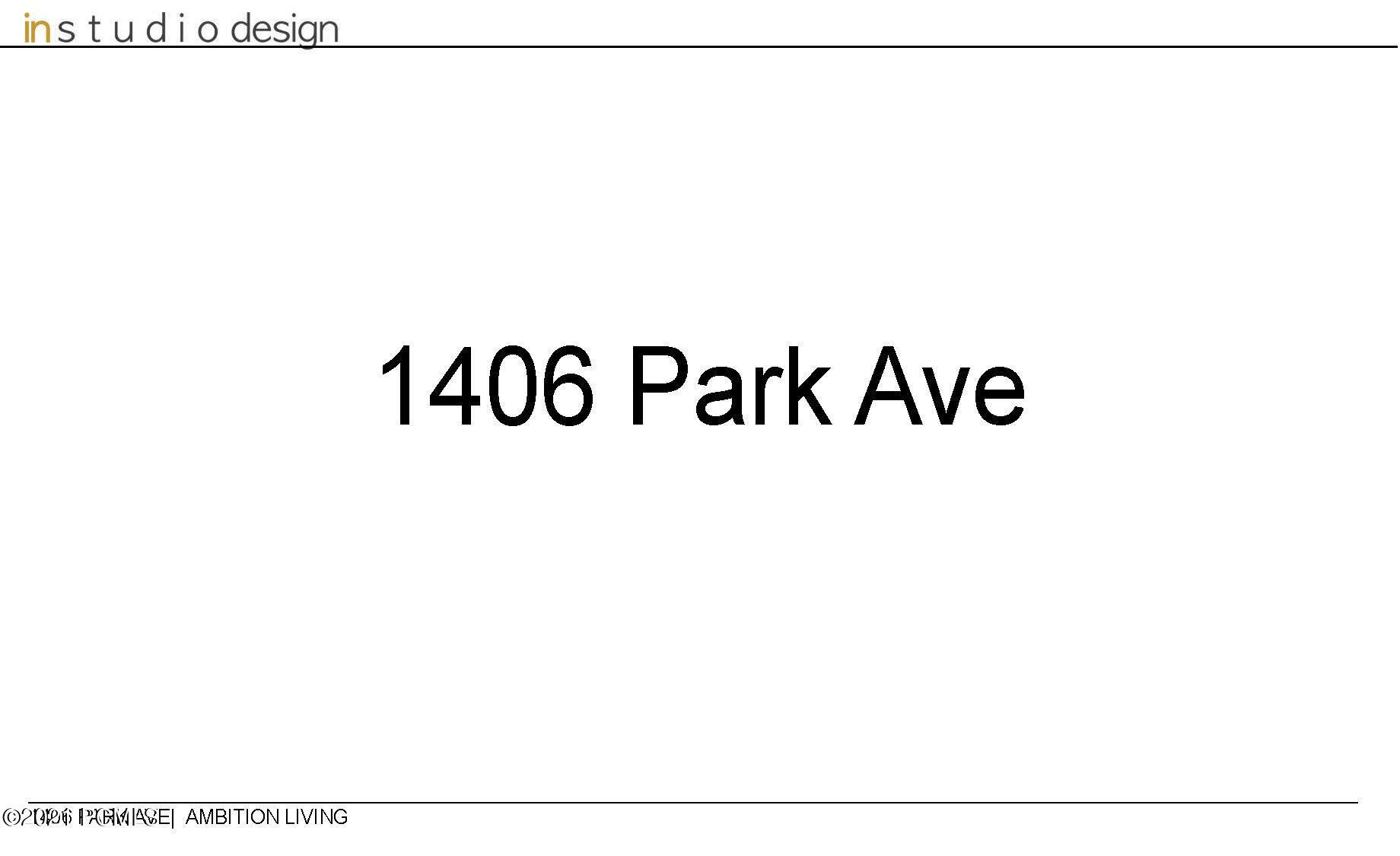 1406  Park Avenue