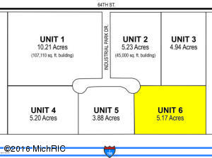 Property for sale at 90 Industrial Park Drive Unit 6, Holland,  MI 49423