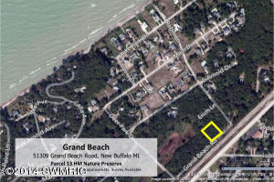 51309 Grand Beach Road, New Buffalo, Michigan 49117, ,Land,For Sale,Grand Beach,17013240