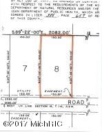 Property for sale at Parcel 8 Osborne Road, Delton,  MI 49046