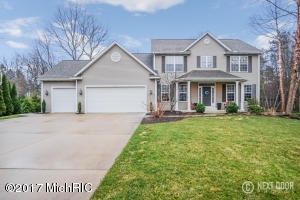 Property for sale at 6420 Hidden Hollow Lane, Holland,  MI 49423