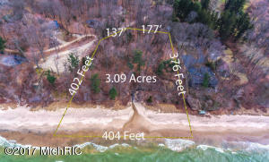 Property for sale at 13870 S Cherry Beach Rd, Three Oaks,  MI 49128