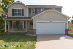 Property for sale at 963 Scenic View Drive, Plainwell,  MI 49080