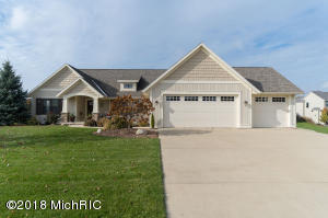 Property for sale at 5947 Cory Point Court, Hudsonville,  MI 49426