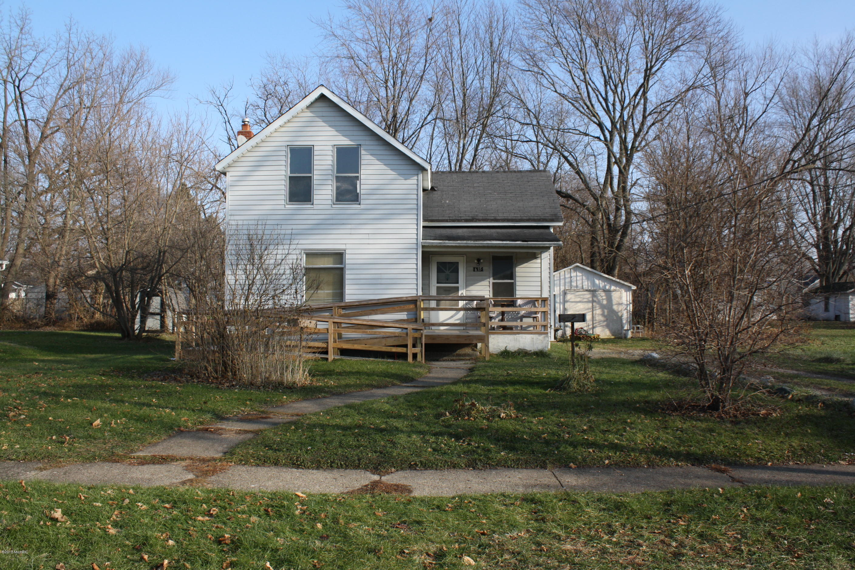 635 11th, Niles, Michigan 49120, 2 Bedrooms Bedrooms, ,1 BathroomBathrooms,Residential,For Sale,11th,18057997