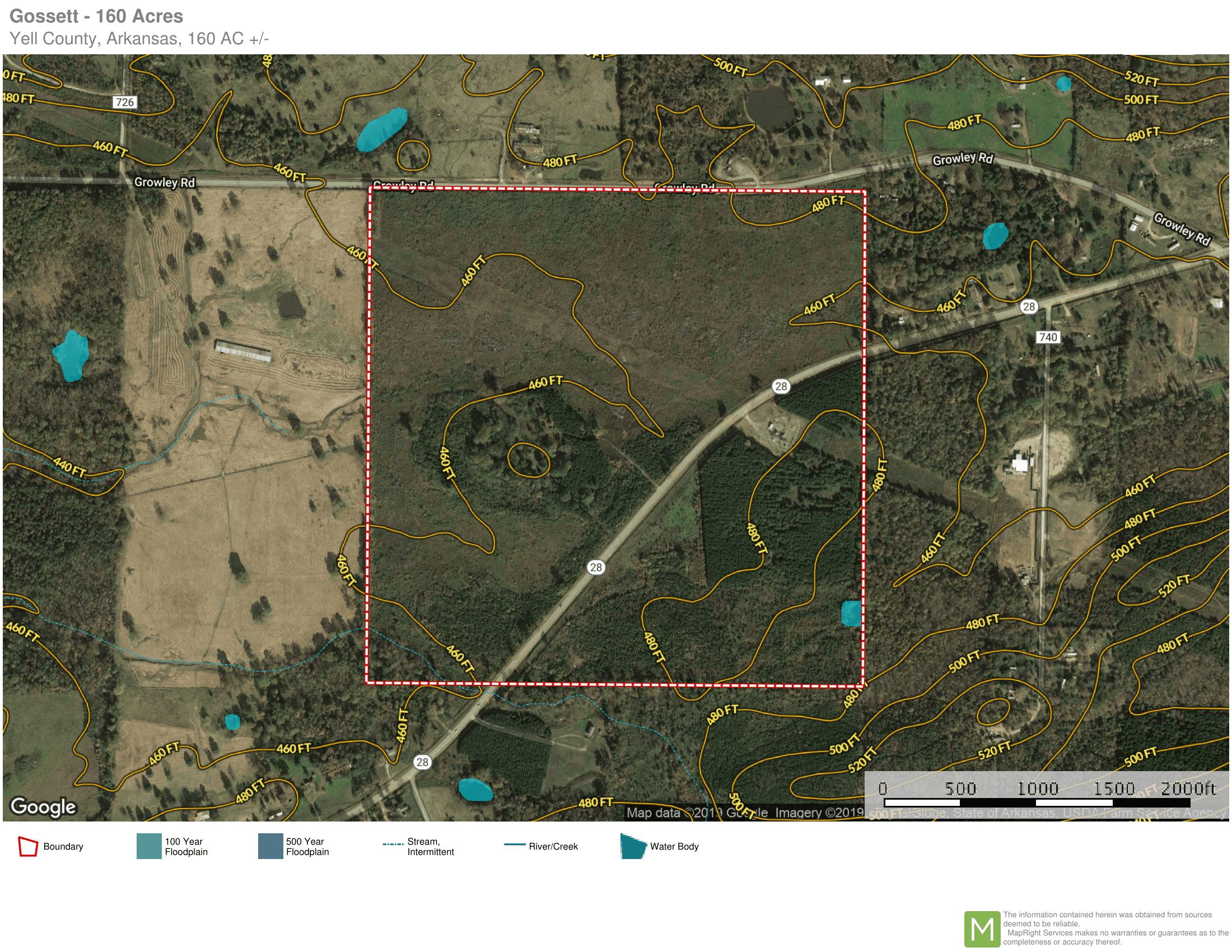 Large photo 1 of sold land at  Hwy 28 , Plainview, AR