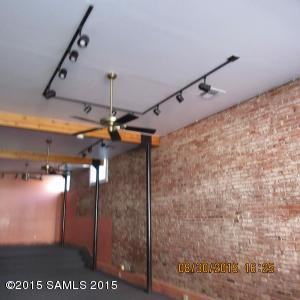 Overhead Lighting in Retail Space