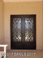 Custom Hubbard Iron Entry Door