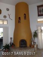 Kiva Wood Fireplace