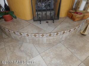 Decorative Tiled Hearth