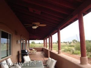 club view rear patio