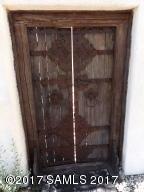 125 year old door to courtyard