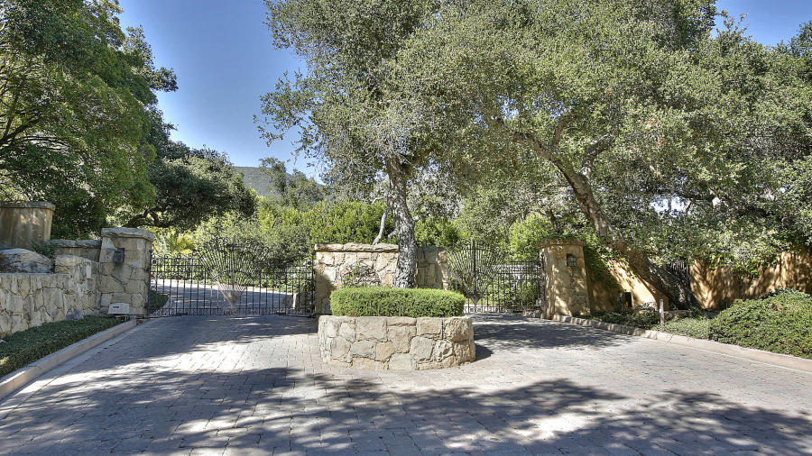 Property photo for 1355 Oak Creek Canyon Road Santa Barbara, California 93108 - 12-2349