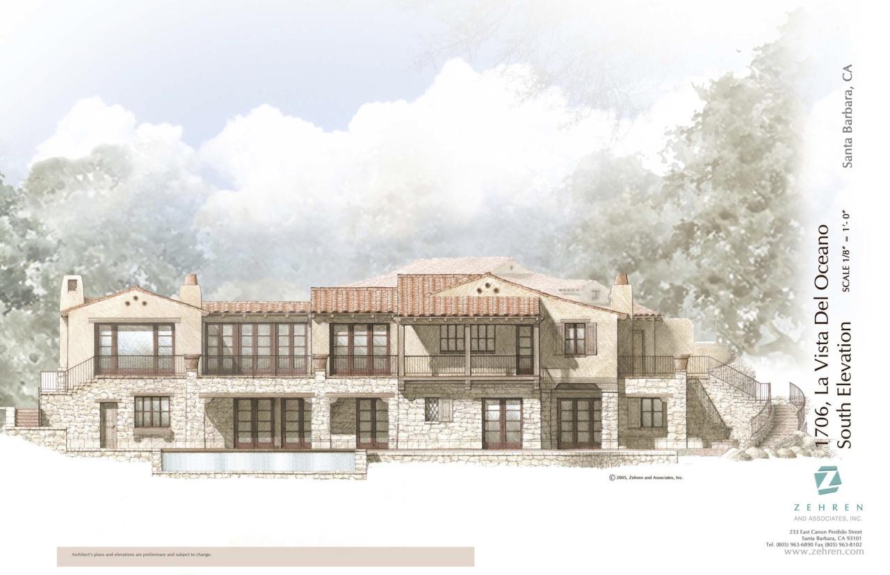 Property photo for 1704 La Vista Del Oceano Santa Barbara, California 93109 - 12-2728