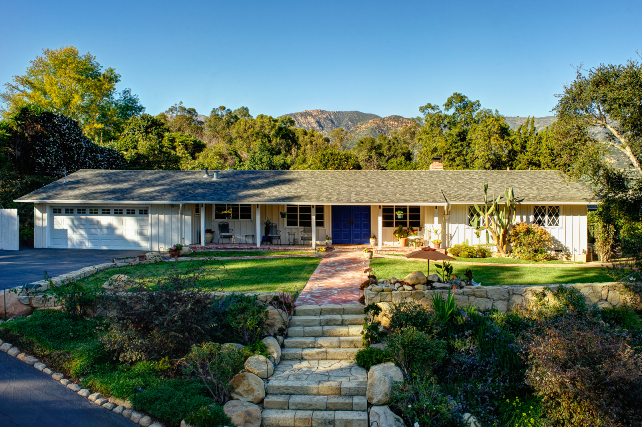 Property photo for 60 Crestview Ln Montecito, California 93108 - 13-352