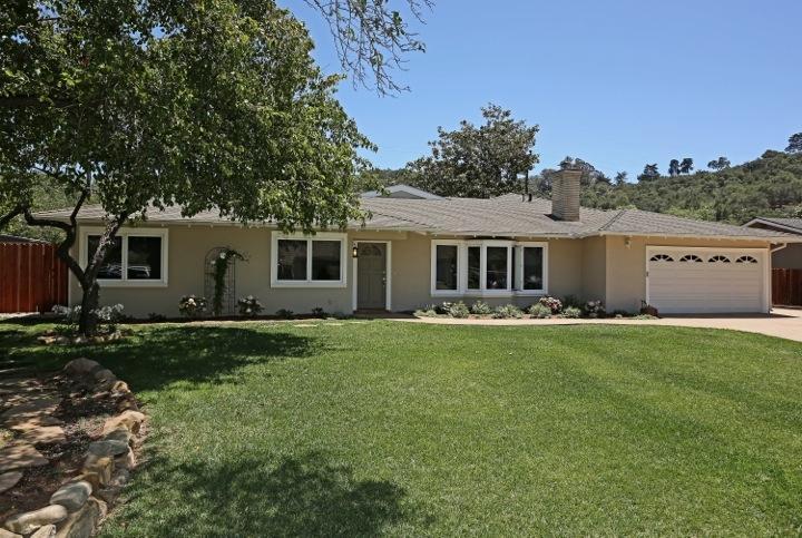 Property photo for 4525 Atascadero Dr Santa Barbara, California 93110 - 13-1989
