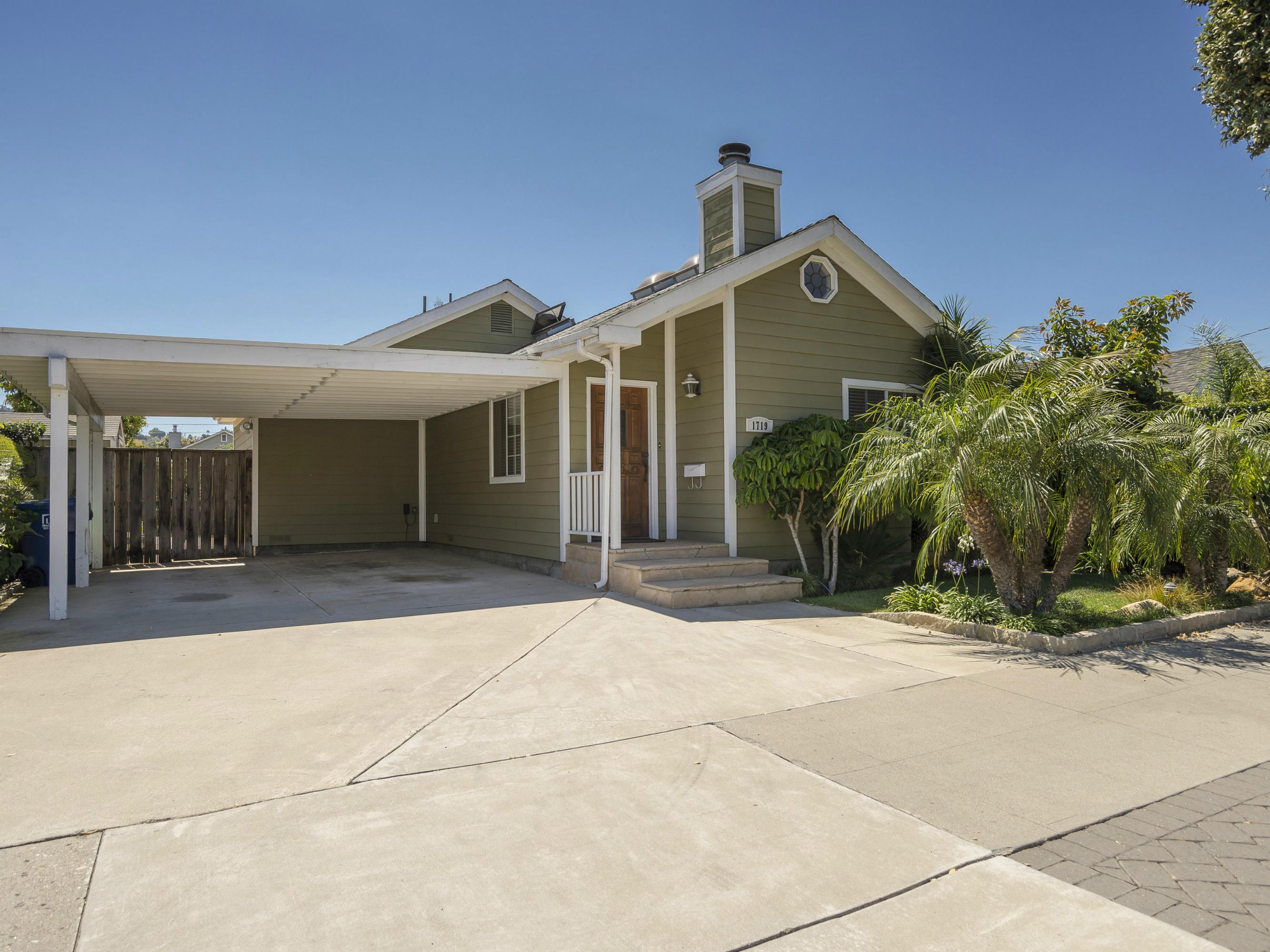 Property photo for 1719 Chino St Santa Barbara, California 93101 - 13-2847