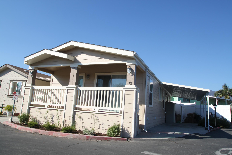 Property photo for 5700 Via Real #43 Carpinteria, California 93013 - 13-2937