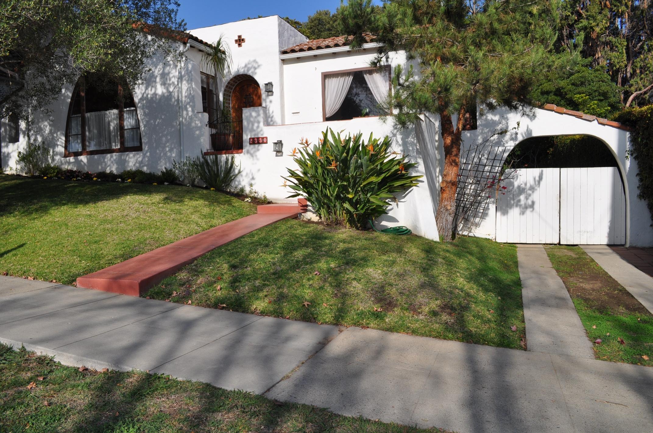 Property photo for 2330 Chapala St Santa Barbara, California 93105 - 14-208