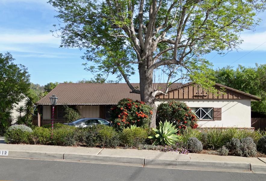 Property photo for 612 Calle Granada Santa Barbara, California 93105 - 14-487