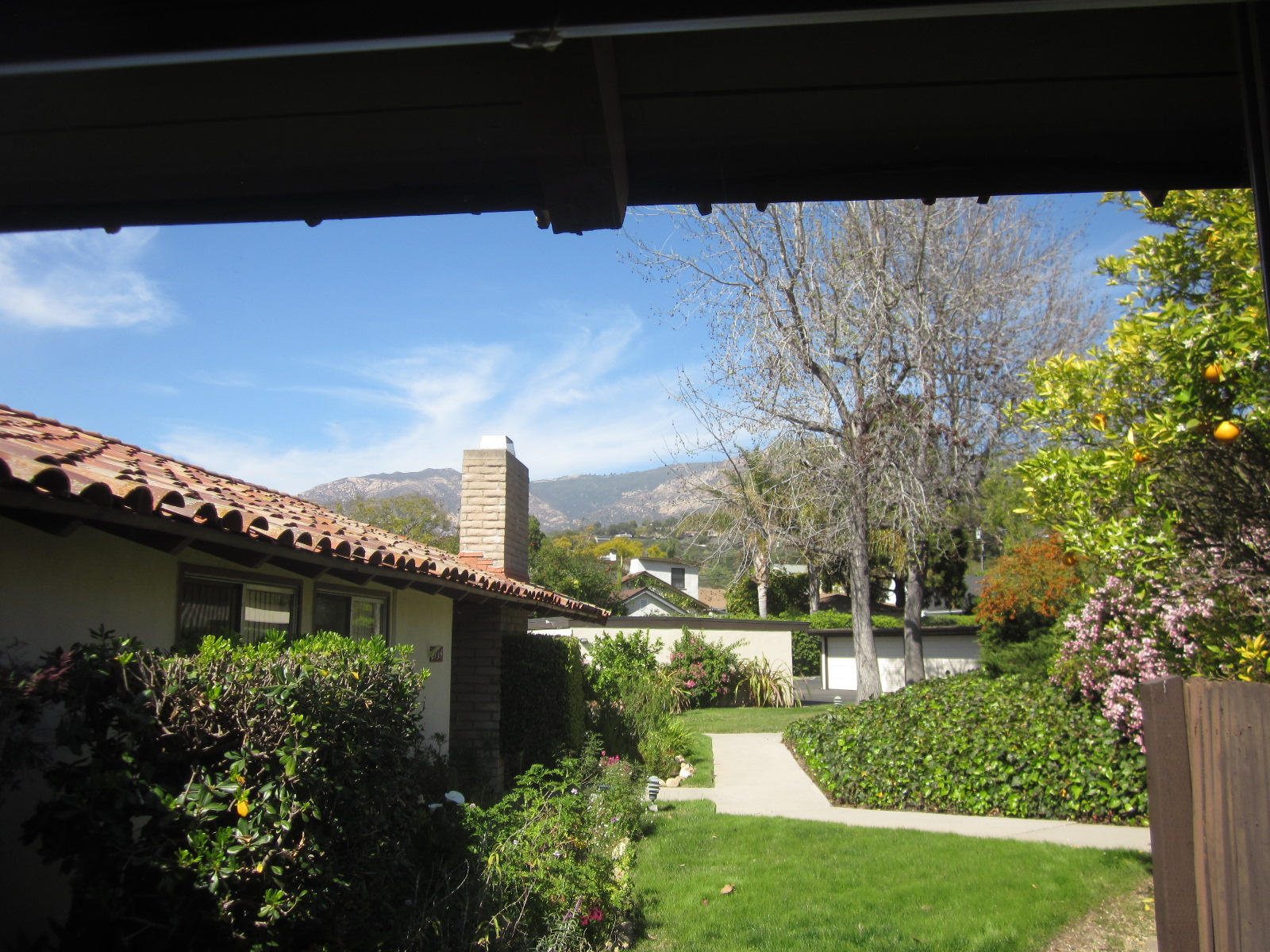 Property photo for 2752 Miradero Dr Santa Barbara, California 93105 - 14-341