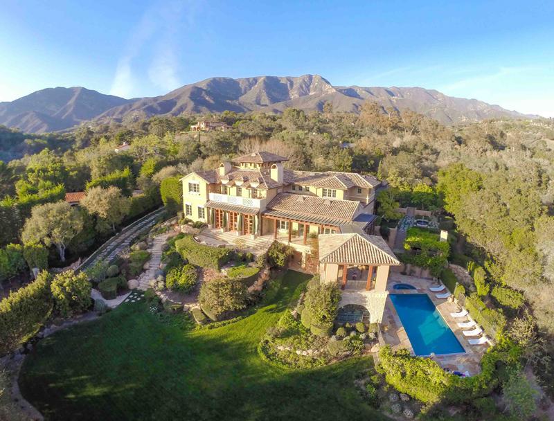 Property photo for 610 Cima Vista Ln Montecito, California 93108 - 12-3253