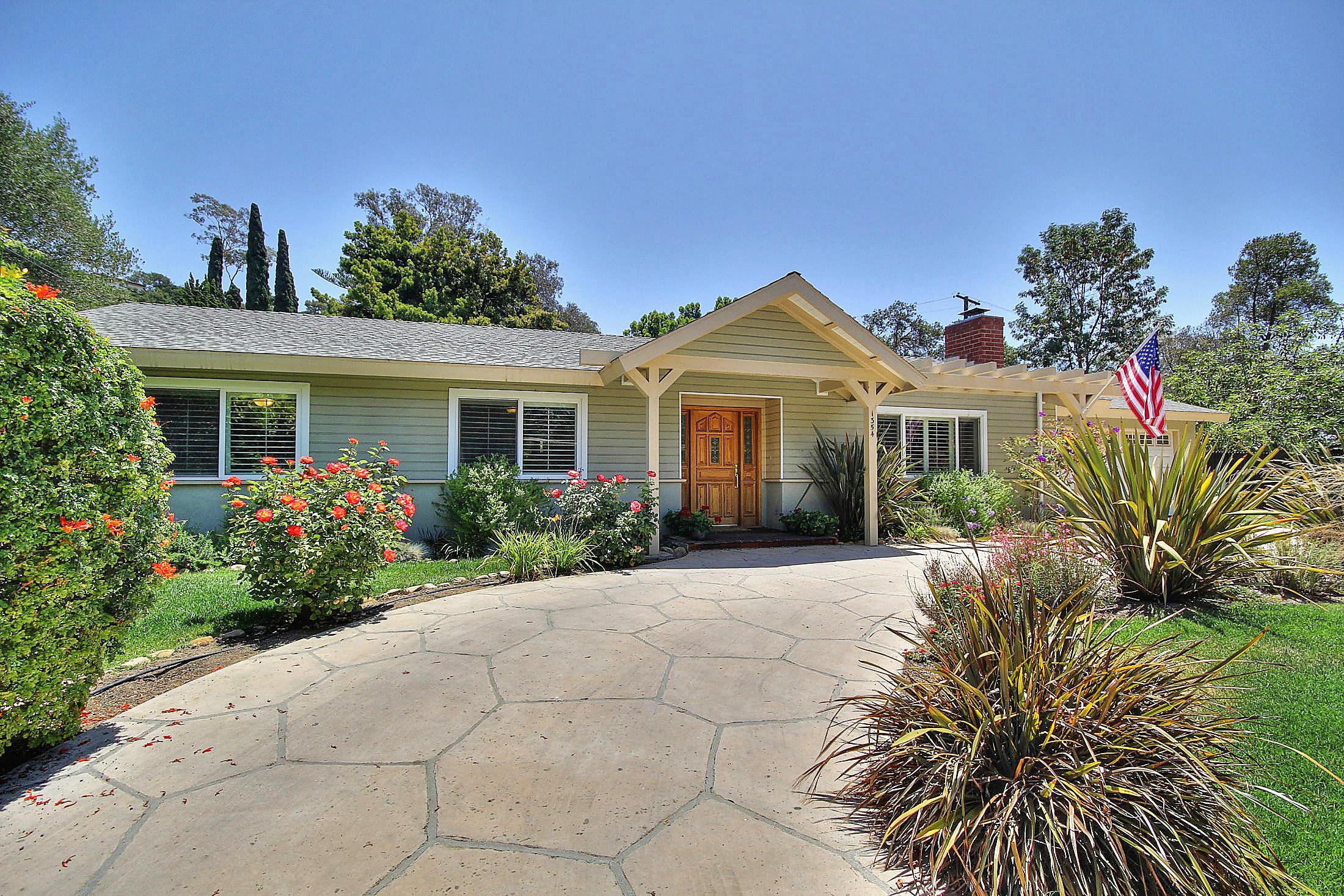 Property photo for 1354 Sycamore Canyon Rd Santa Barbara, California 93108 - 14-2172