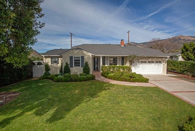 Property photo for 51 E Calle Crespis Santa Barbara, California 93105 - 15-538