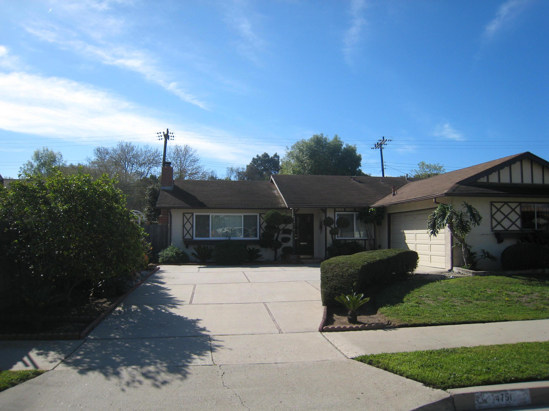 Property photo for 4751 Avalon Ave Santa Barbara, California 93110 - 15-730
