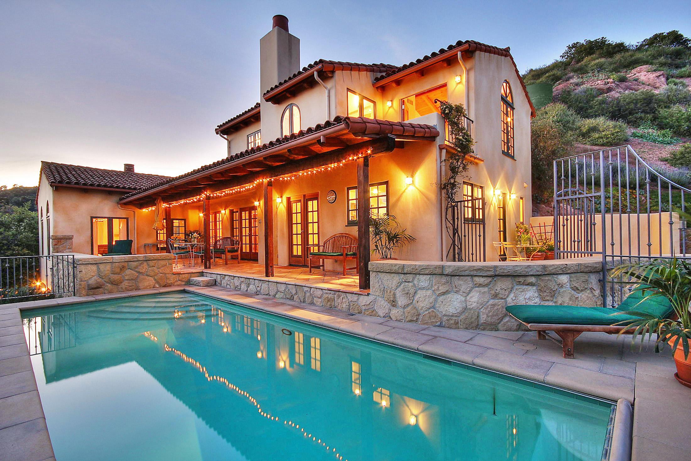 Property photo for 1421 W Mountain Dr Santa Barbara, California 93103 - 15-831
