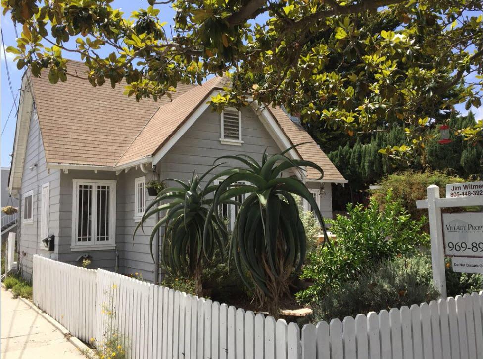 Property photo for 1615 San Andres St Santa Barbara, California 93101 - 15-1736