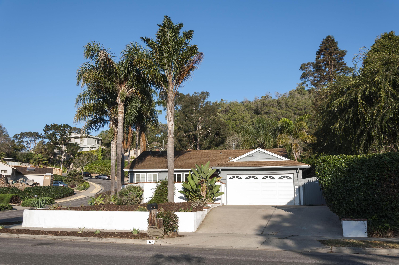 Property photo for 447 Alan Rd Santa Barbara, California 93109 - 15-2565