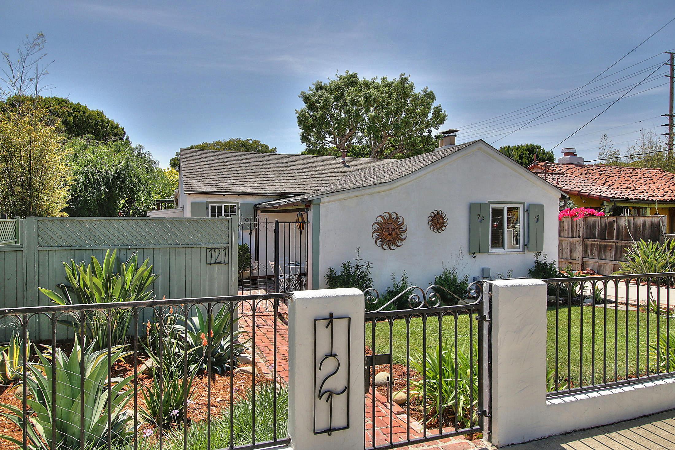 Property photo for 121 Juana Maria Ave Santa Barbara, California 93103 - 16-1372