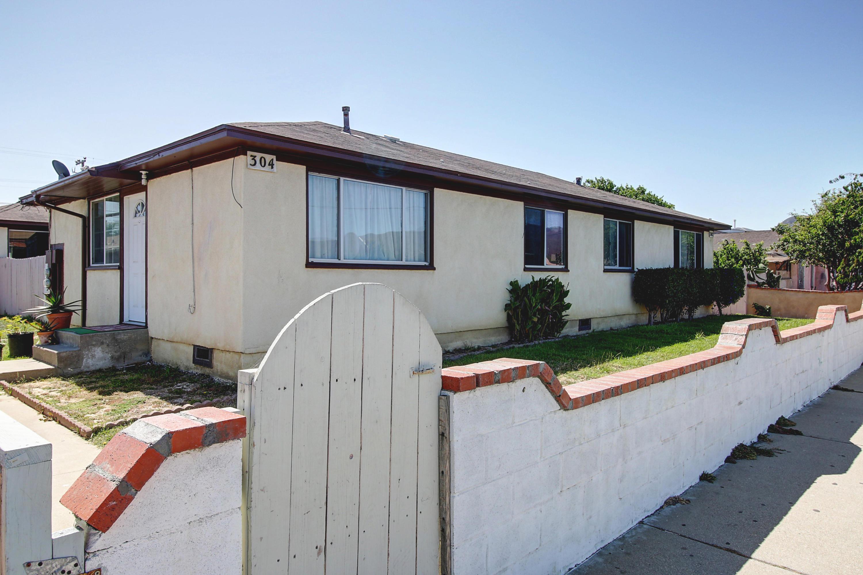 Property photo for 302 N O St Lompoc, California 93436 - 16-2362