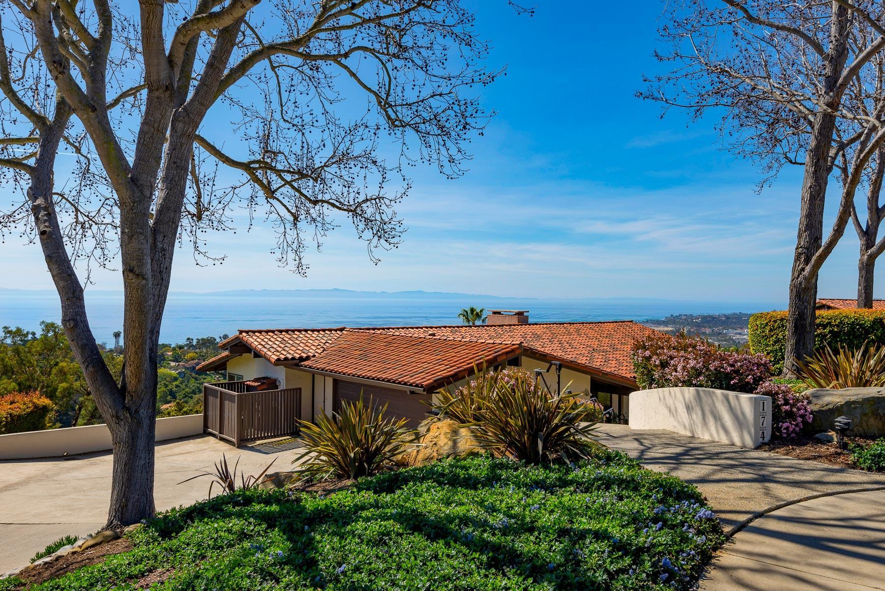 Property photo for 174 Coronada Cir Montecito, California 93108 - 17-864