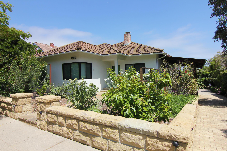 Property photo for 218 E Valerio St Santa Barbara, California 93101 - 17-1796