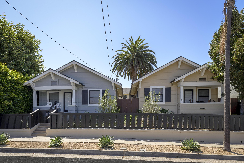 Property photo for 125 & 129 W Pedregosa St Santa Barbara, California 93101 - 17-2866
