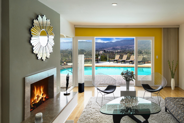 Property photo for 1214 Crestline Dr Santa Barbara, California 93105 - 18-395