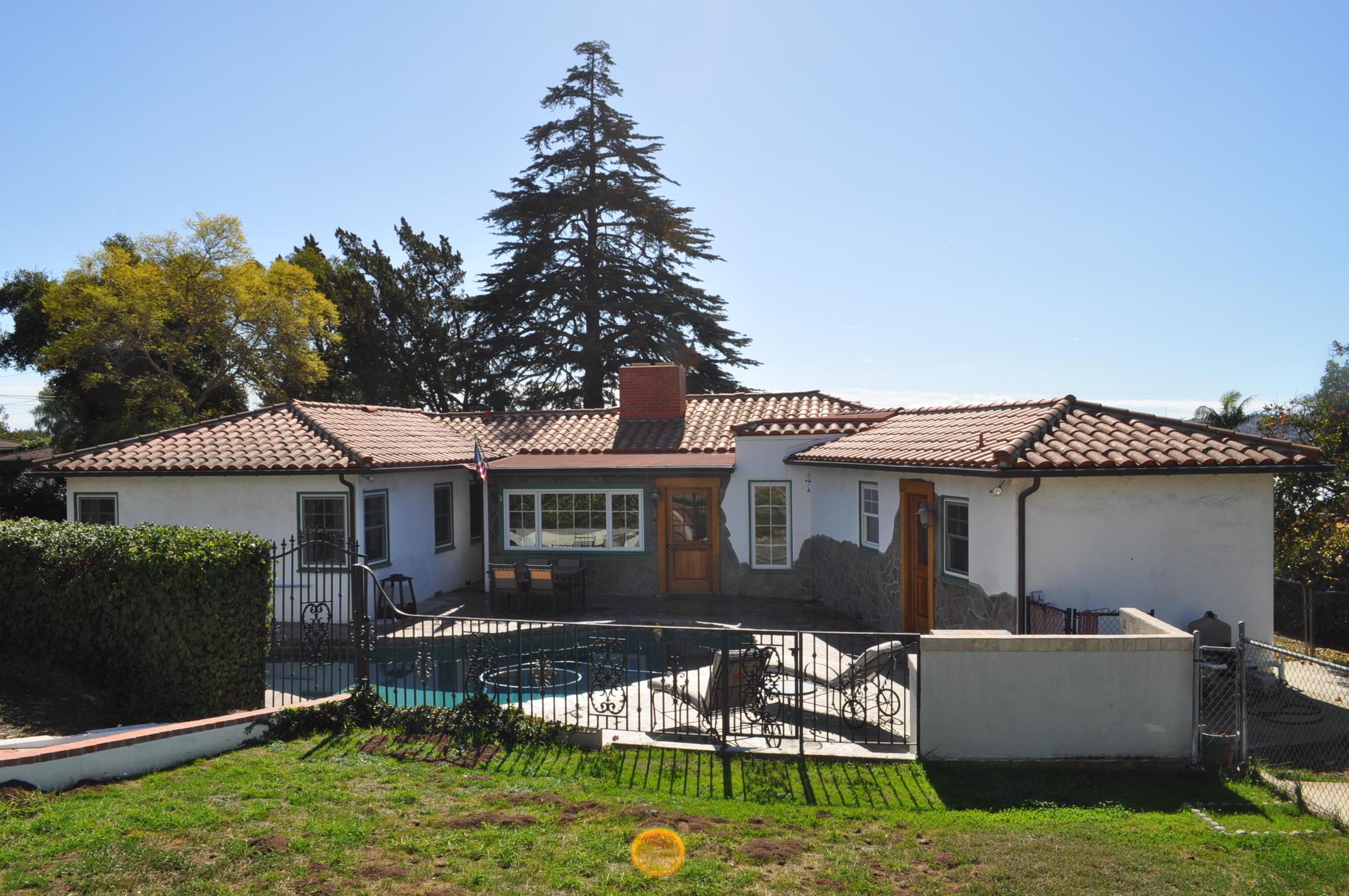 Property photo for 322 Piedmont Rd Santa Barbara, California 93105 - 18-523