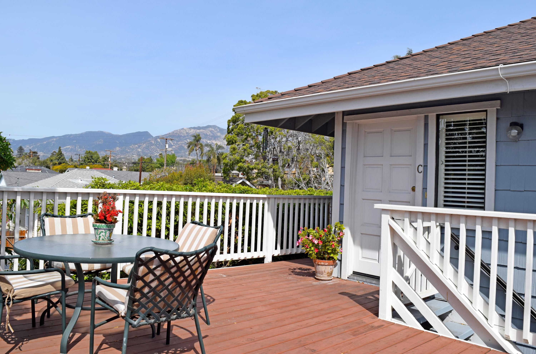 Property photo for 1727 Bath St #C Santa Barbara, California 93101 - 18-871