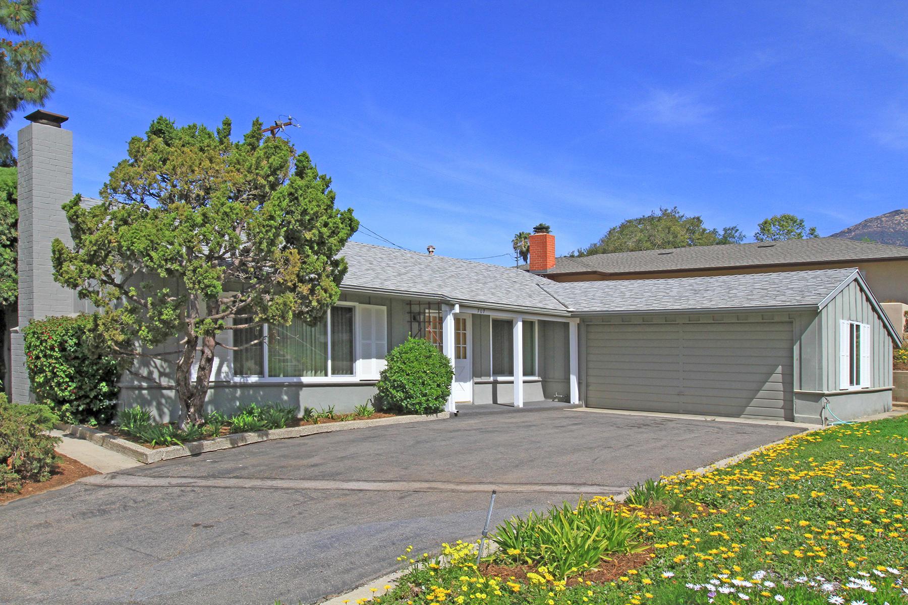 Property photo for 707 N Ontare Rd Santa Barbara, California 93105 - 18-1207