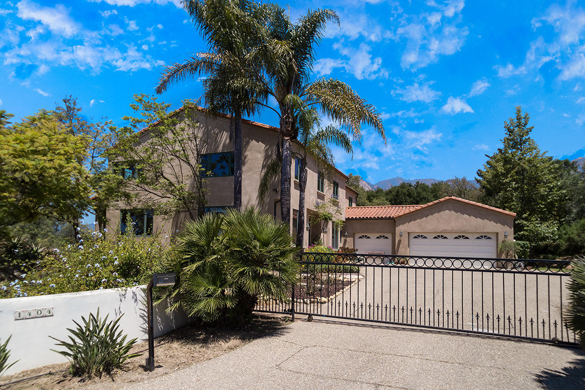 Property photo for 1404 Las Canoas Ln Santa Barbara, California 93105 - 18-2455