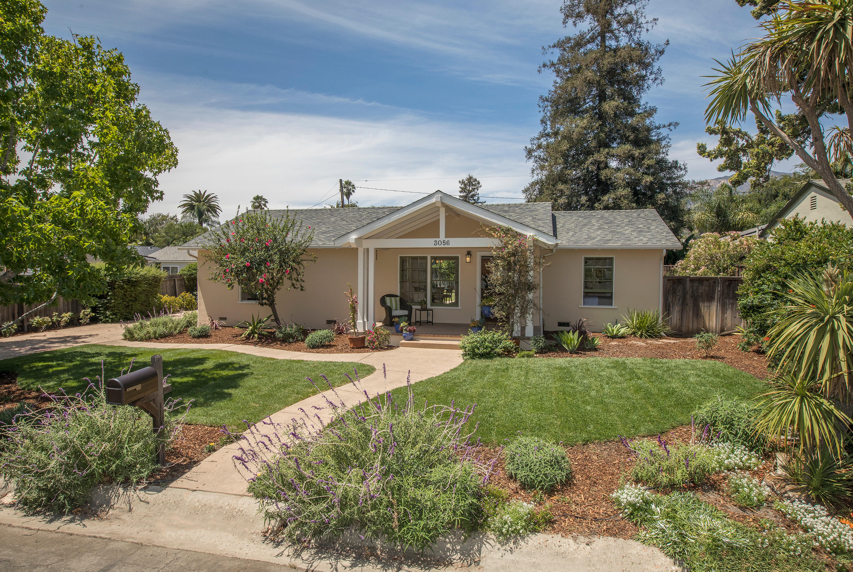 Property photo for 3056 Calle Rosales Santa Barbara, California 93105 - 18-2739