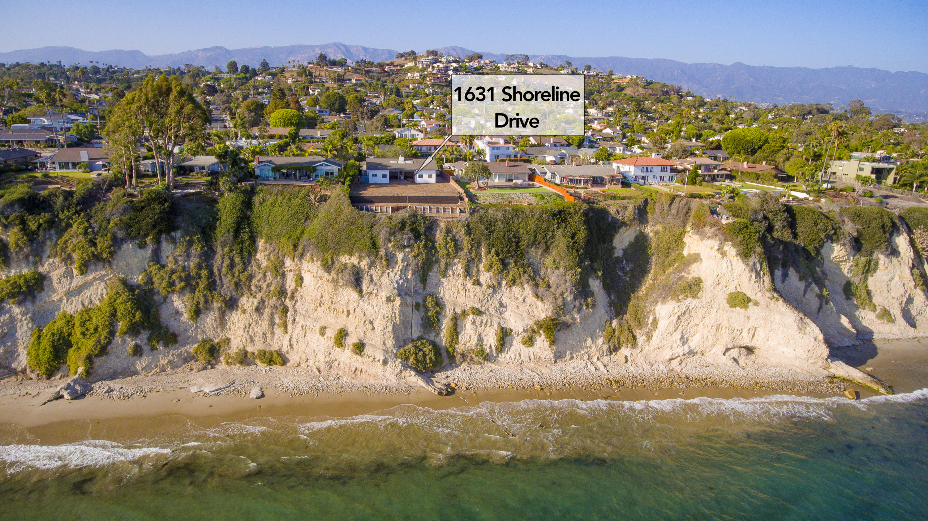 Property photo for 1631 Shoreline Dr Santa Barbara, California 93109 - 18-3656