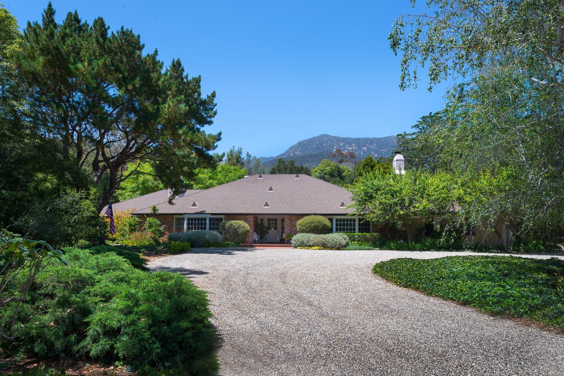 1864 E Valley Rd, Montecito in Santa Barbara County, CA 93108 Home for Sale