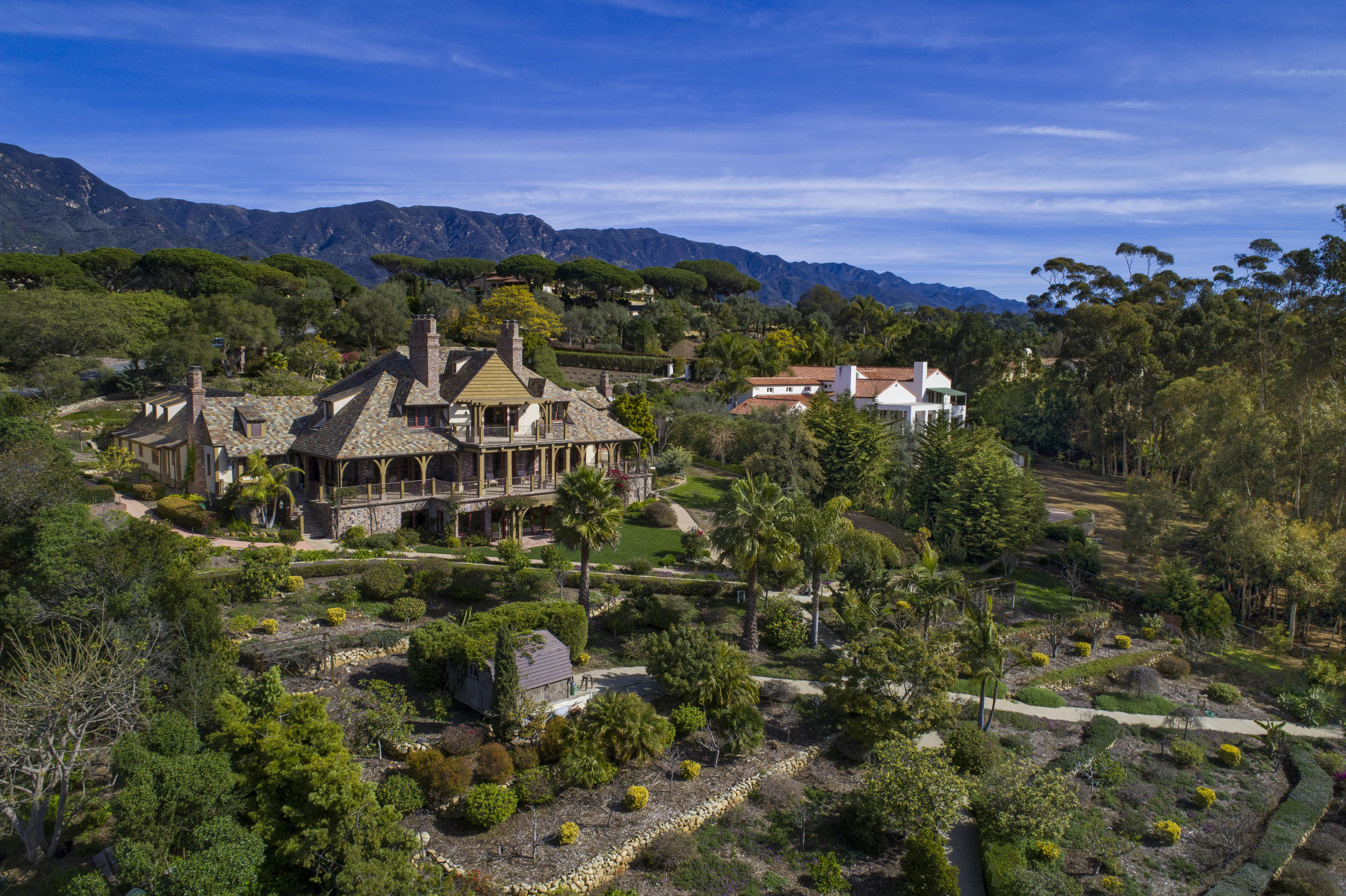 One of Montecito 6 Bedroom Homes for Sale at 256  Las Entradas Dr