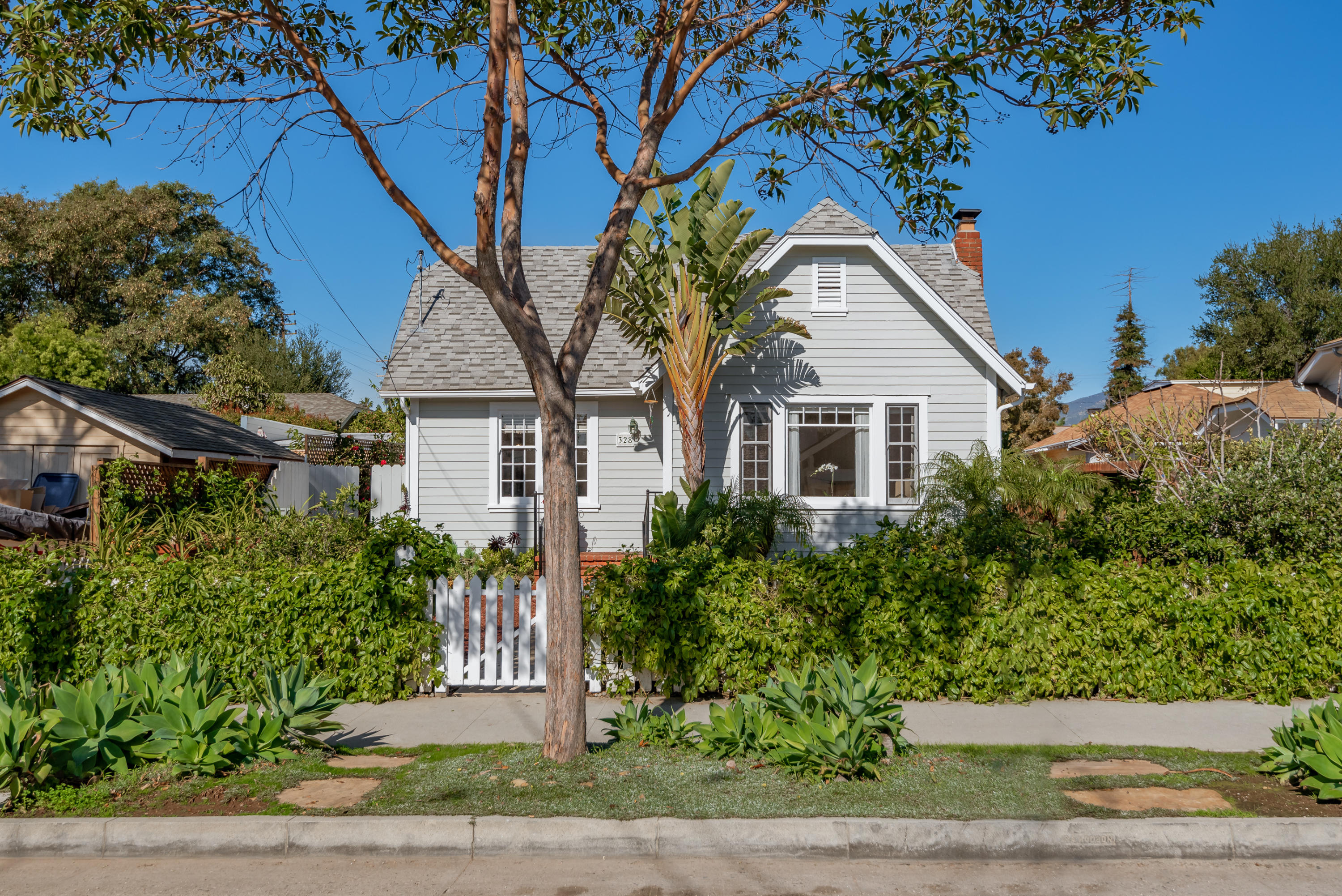 Property photo for 328 W Pedregosa St #A & B Santa Barbara, California 93101 - 19-459