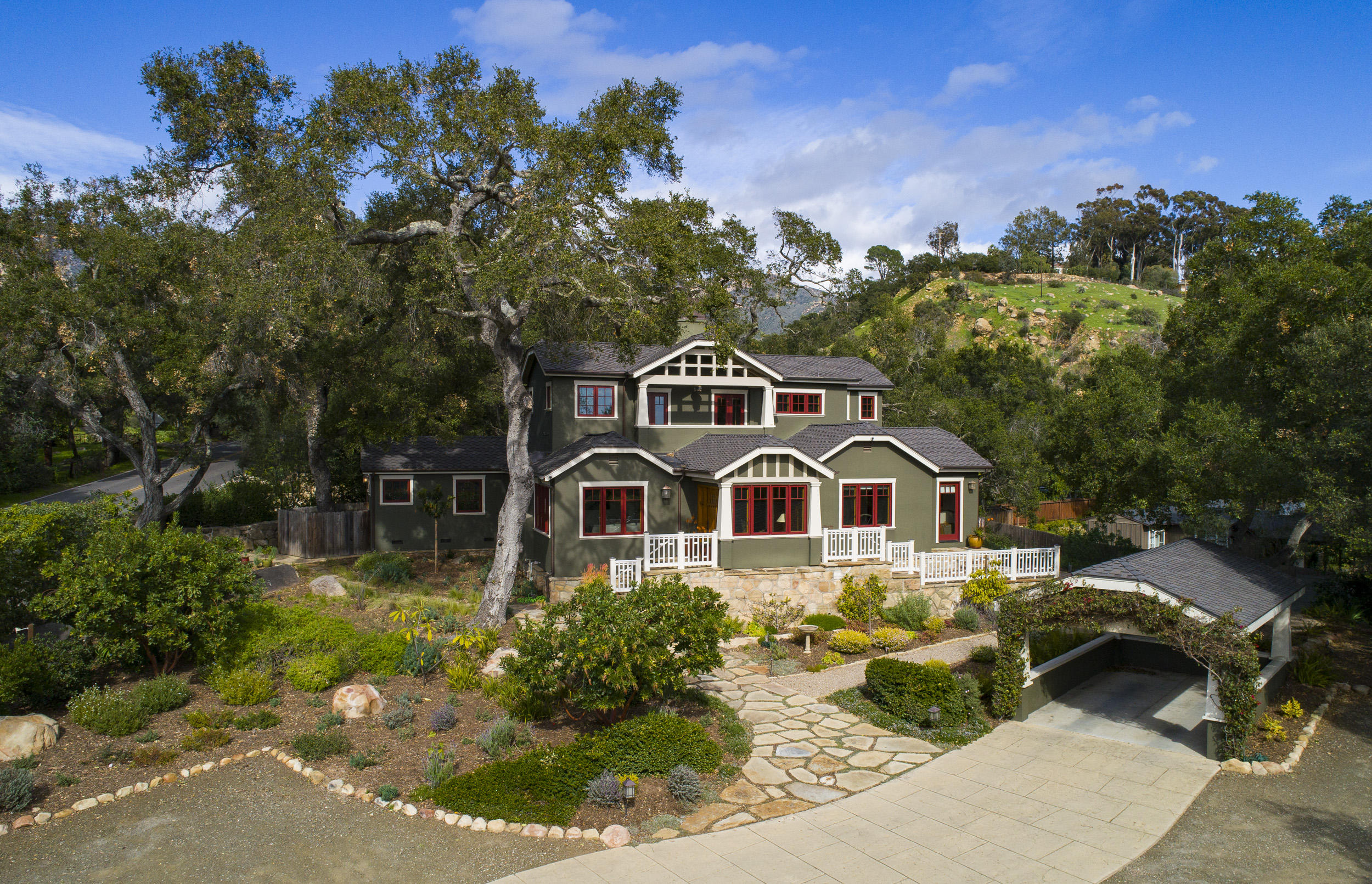 One of Santa Barbara 4 Bedroom Homes for Sale at 2480  Foothill Rd