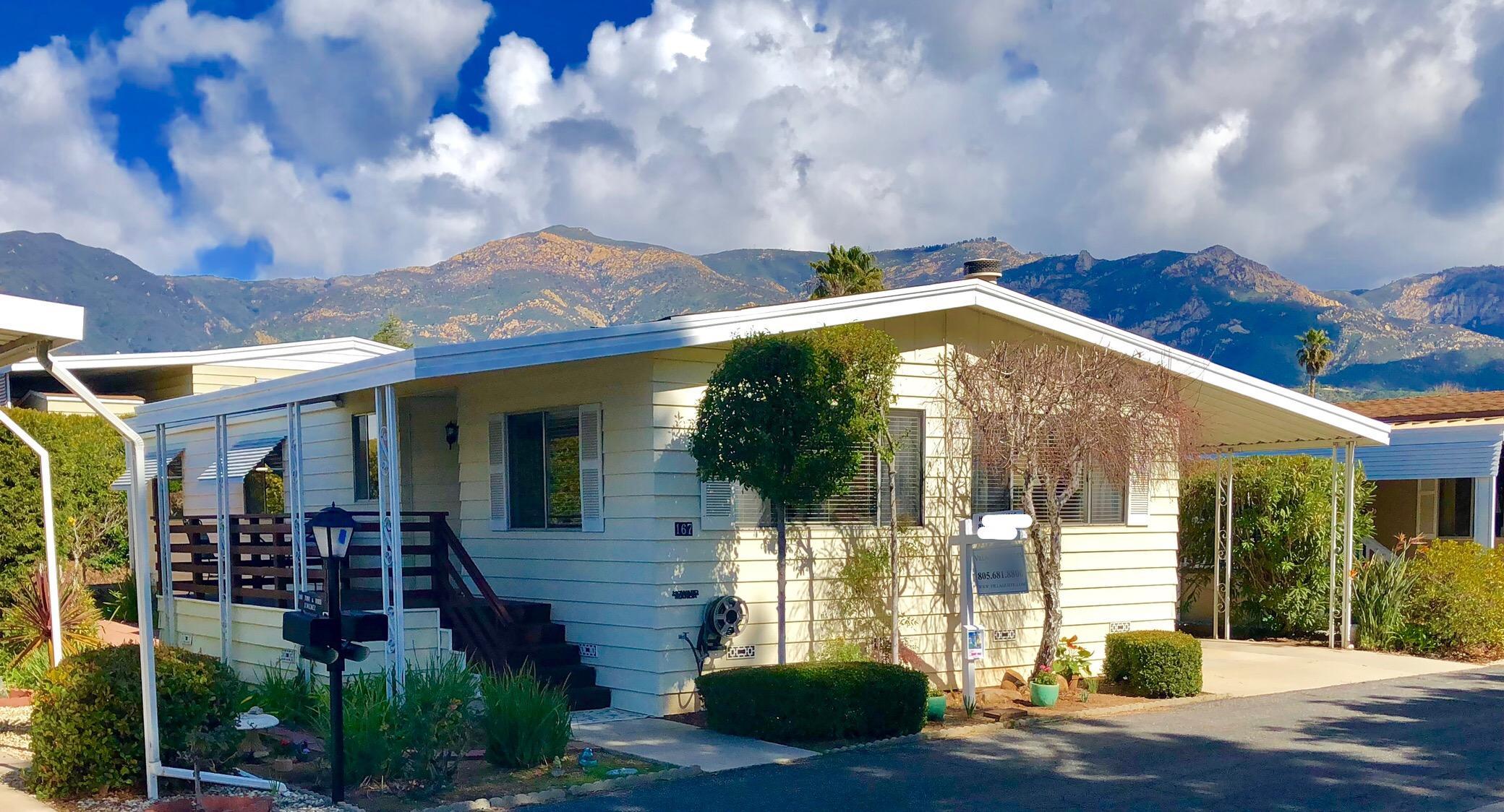Property photo for 340 Old Mill Rd #167 Santa Barbara, California 93110 - 19-2
