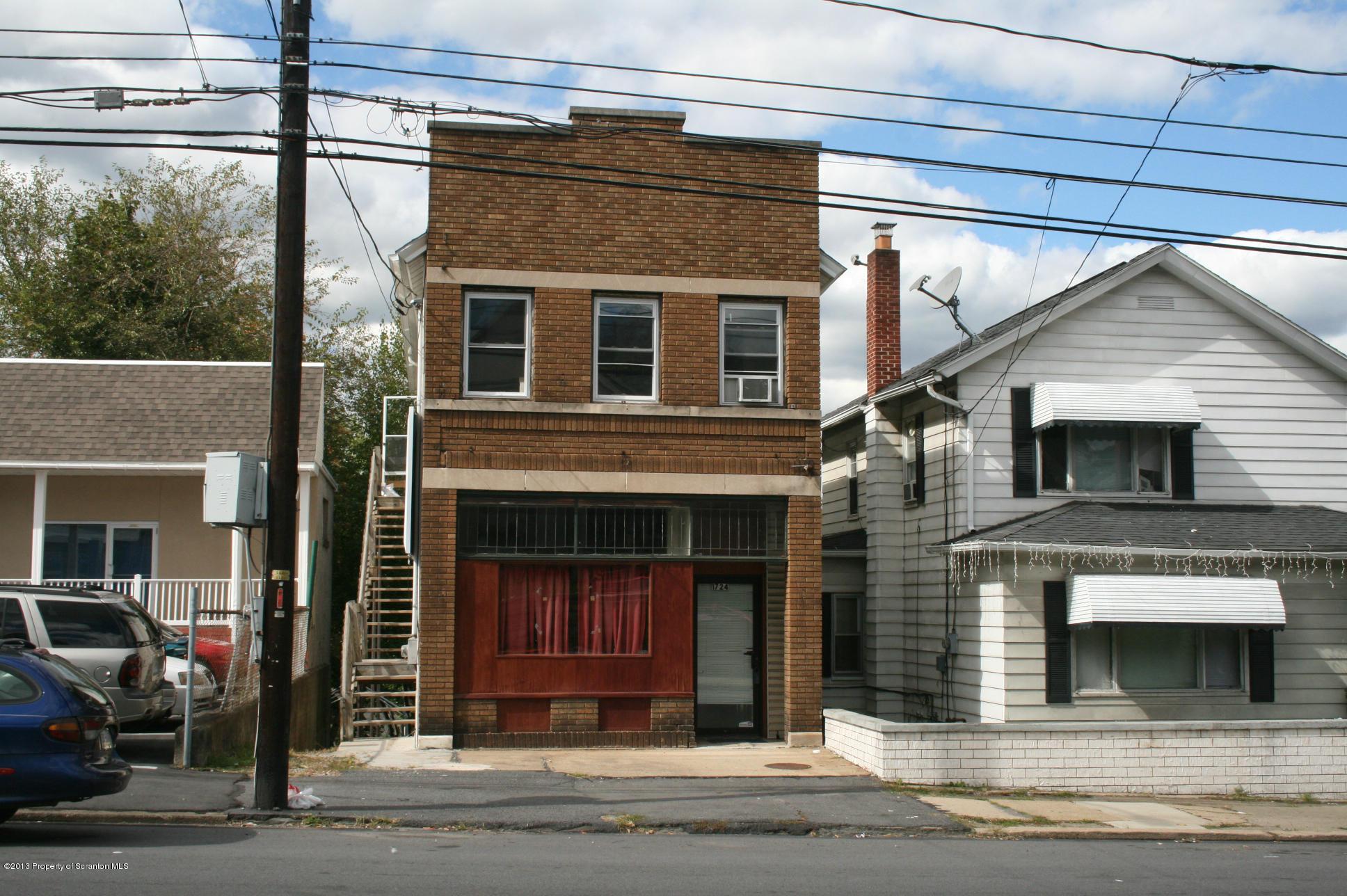 1724 Pittston Ave, Scranton, Pennsylvania 18505, ,2 BathroomsBathrooms,Commercial,For Sale,Pittston,13-4745